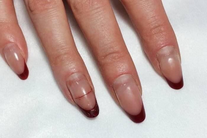 Экспресс наращивание ногтей мастер класс пошаговый #11